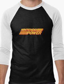 Nintendo Power Logo Men's Baseball ¾ T-Shirt