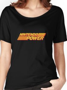 Nintendo Power Logo Women's Relaxed Fit T-Shirt