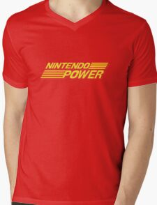 Nintendo Power Logo Mens V-Neck T-Shirt
