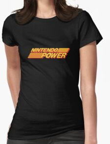 Nintendo Power Logo Womens Fitted T-Shirt