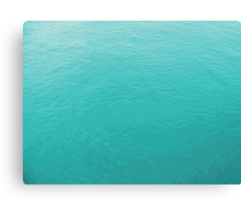 Calm Water photo painting Canvas Print