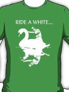 Marc Bolan T Rex Homage Swan T-Shirt T-Shirt