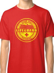 Dune Sea Lifeguard [Yellow Distressed] Classic T-Shirt