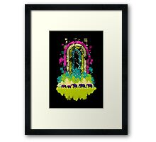 Retro Jungle Framed Print