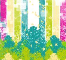 Retro Jungle Sticker