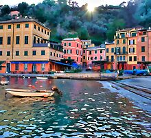 Portofino paint three by oreundici