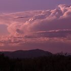 Violet Clouds - Southern New Mexico by Kwon Ekstrom