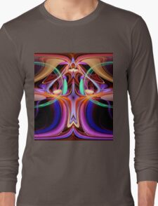 ©DA FS Face Off In Fractal 15A V2 Long Sleeve T-Shirt
