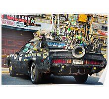 Ocean City Batmobile Poster