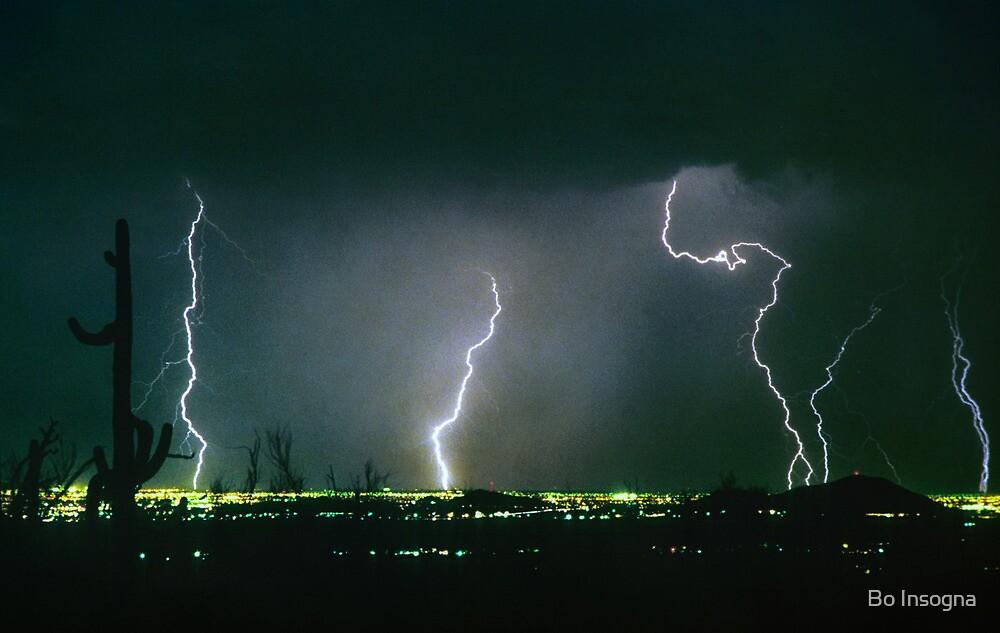 North Scottsdale  Arizona Lightning  View by Bo Insogna