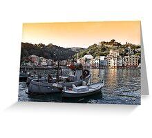 Portofino paint four Greeting Card