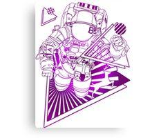 Spaceman lost in deep Cosmos Canvas Print