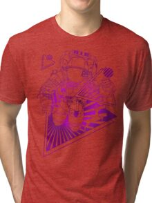 Spaceman lost in deep Cosmos Tri-blend T-Shirt