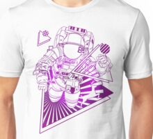 Spaceman lost in deep Cosmos Unisex T-Shirt