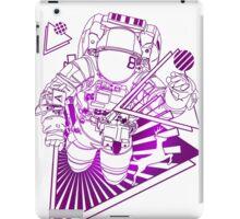 Spaceman lost in deep Cosmos iPad Case/Skin