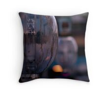 Squid Boat lights Throw Pillow