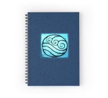 I am a Waterbender Spiral Notebook