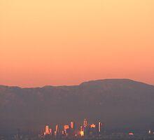 A City Set Ablaze by Kenny Gulley Jr.