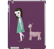 Llama Girl iPad Case/Skin
