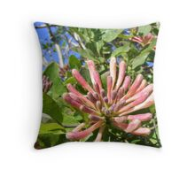 Wild flowers on the Donegal hills Throw Pillow