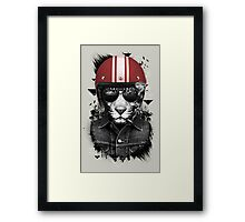 Jungle Rider Framed Print