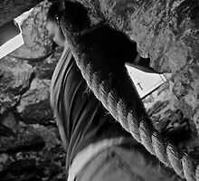 Climbing - Blarney Castle by emerson