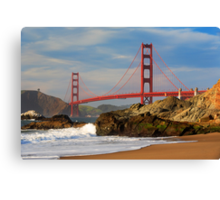 Baker Beach Canvas Print