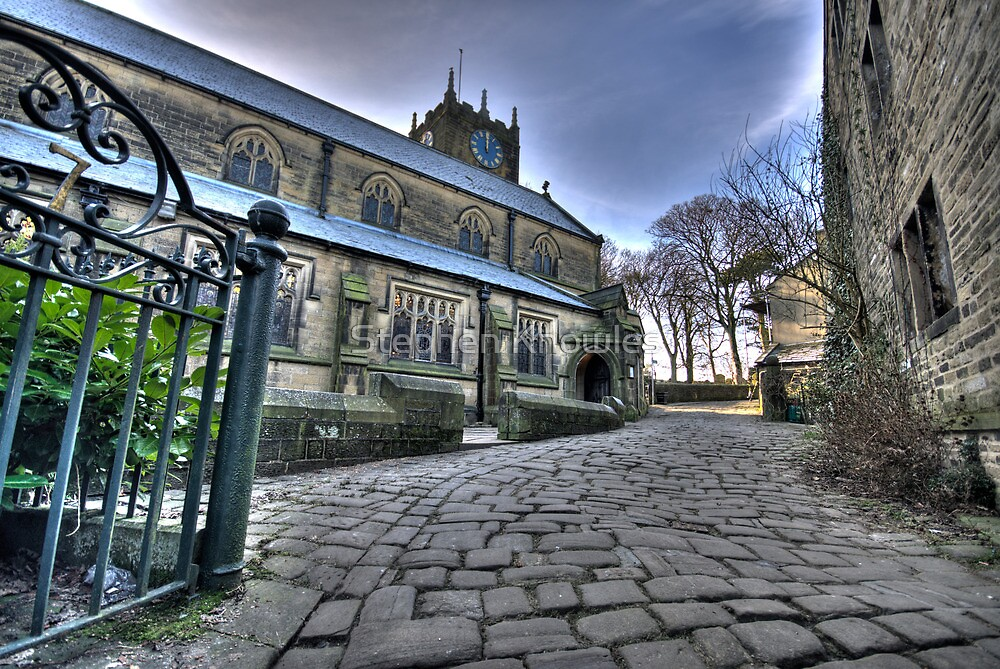 Haworth Church HDR 2 by Stephen Knowles