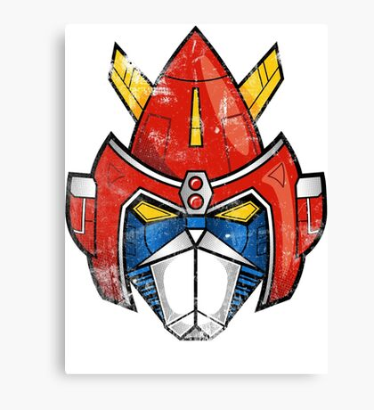 V-Head Canvas Print