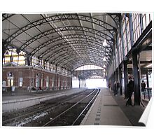 Railway station 'Holland Spoor' II Poster