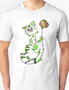 MR. KiTTY'S BALLOON! - GREEN Unisex T-Shirt