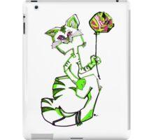 MR. KiTTY'S BALLOON! - GREEN iPad Case/Skin