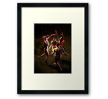 Darksome Night Framed Print