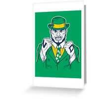 Fighting Irish Greeting Card