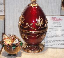 Red Faberge Egg by kinkydesigns