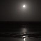 """Moonrise"" Godfreys Beach by Stephen Gregory"