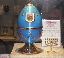 Blue Faberge Egg by kinkydesigns