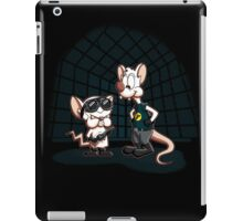 Pinky And The Brain What Do You Want To Do Tonight iPad Case/Skin