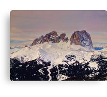 Il Sassolungo Canvas Print