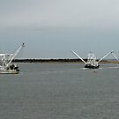 Commercial Fishing Boats by hatterasjack