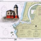 Coquille River Lighthouse Charted by Randall Scholten