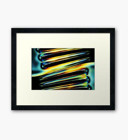 *prongs* Framed Print