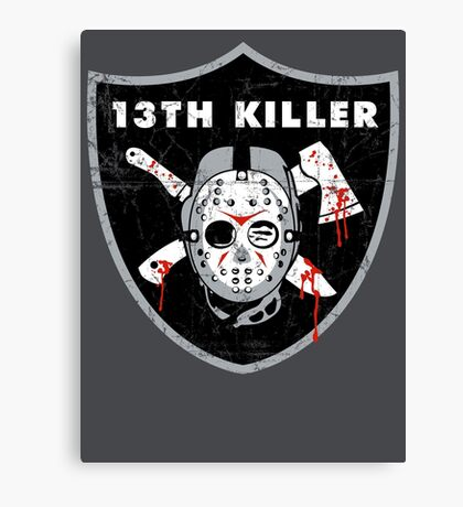 13th Killer Canvas Print