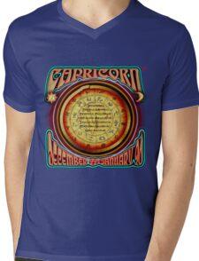 ASTROLOGY = CAPRICORN Mens V-Neck T-Shirt