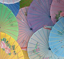 Asian Umbrellas by bmwlego