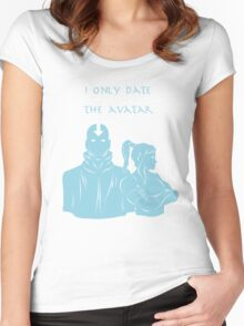 The Avatar Women's Fitted Scoop T-Shirt