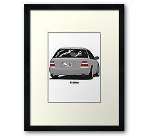 Accord Wagon Framed Print