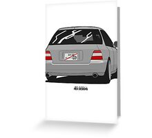 Accord Wagon Greeting Card