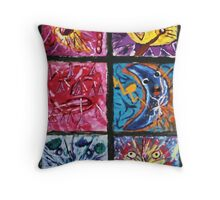 death of lunacy Throw Pillow