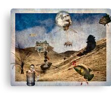 Theatre Of The Absurd #7 Canvas Print